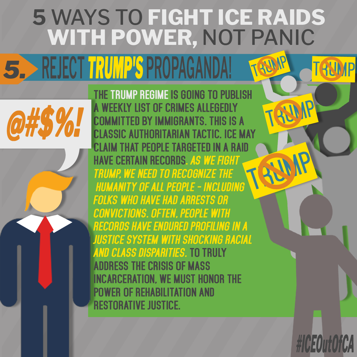 Fight ICE Raids with Power 5