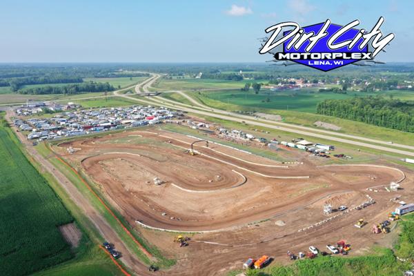 Overhead photo of Dirt City track