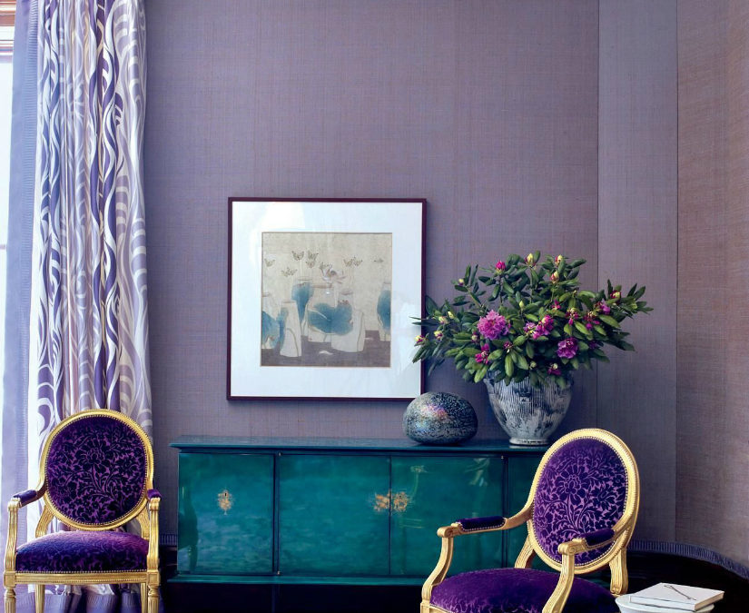 Design Inspiration : Pantone 2018 Color of the Year Ultra Violet