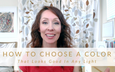 Choose Color That Looks Good In Any Light