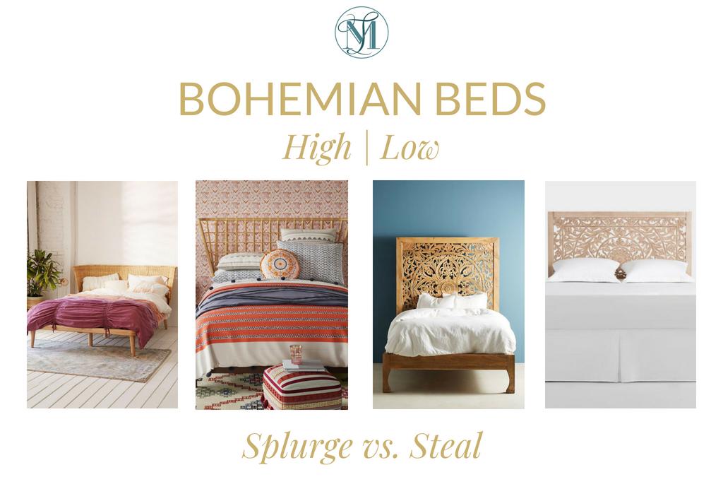 Splurge Vs. Steal – Bohemian Beds