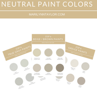 marilyn taylor, interior designer, consultant, los angeles, neutral paint, dunn edwards, top 6, tan paint, brown paint, beige paint, colors, gray, grey, greige, marilynn taylor