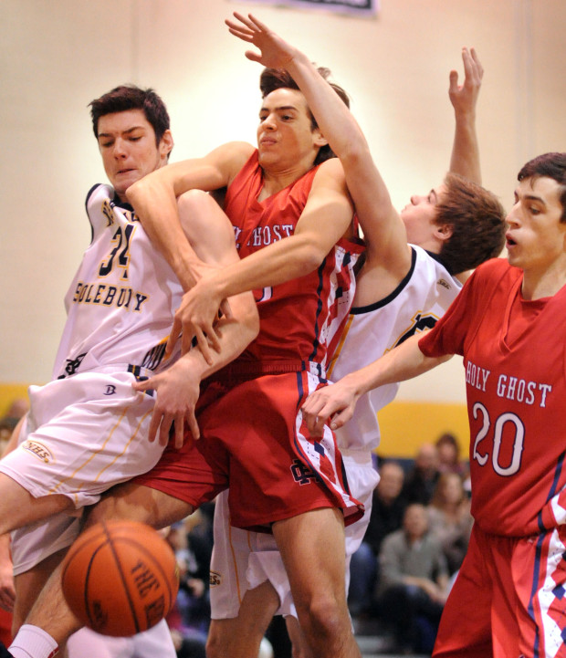 Holy Ghost Prep at New Hope Solebury Boys Basketball