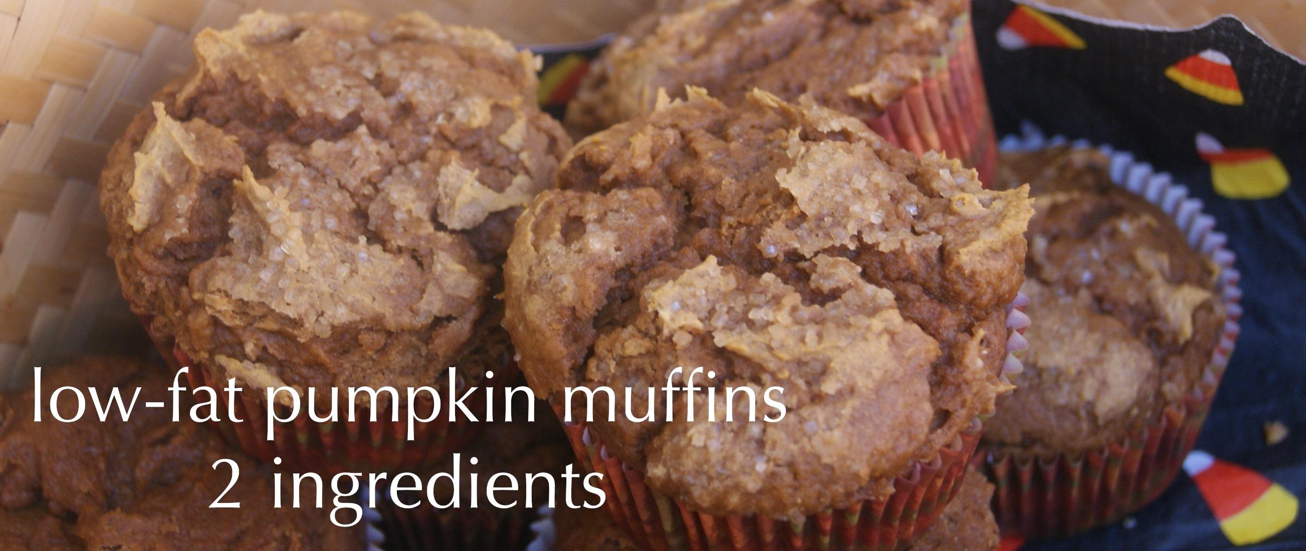 Low Fat Pumpkin Muffins