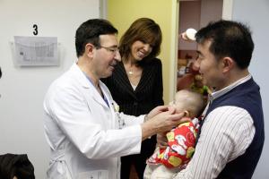 Dr. Waner, Hannah and patient, Tingyi