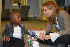 Our patient, Prince with Hannah Storm