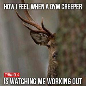 gym creeper
