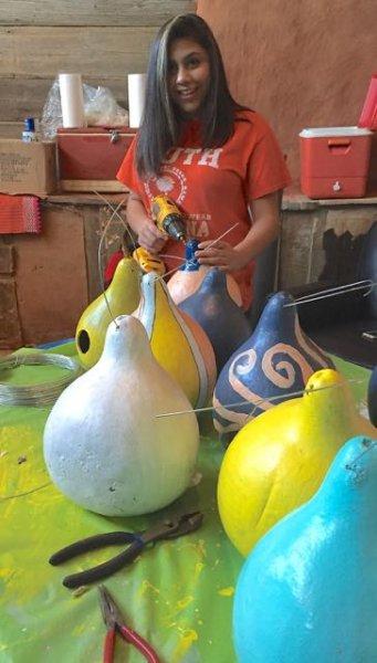 the Niece wiring gourds