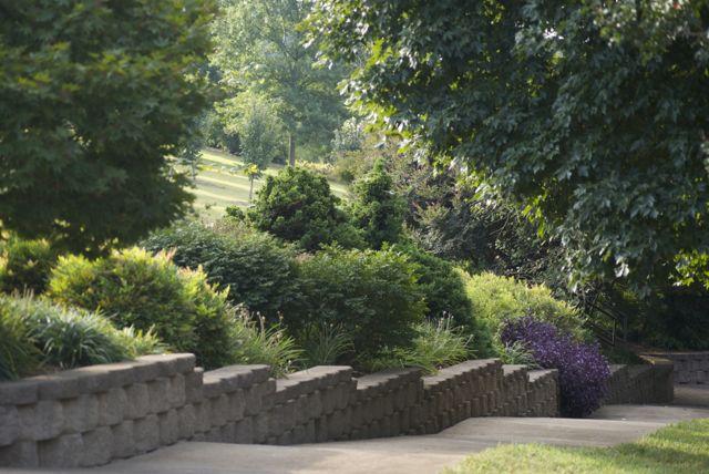 Border from Campus to Garden