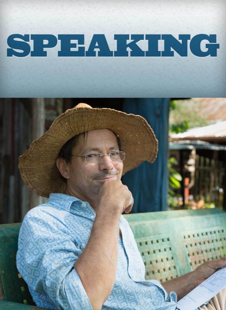 author-speaking