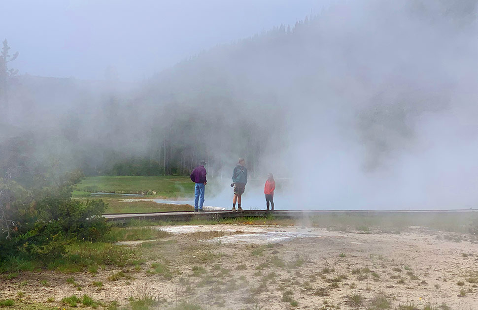 Yellowstone Visitor Numbers Up