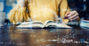 open math book