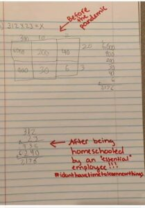 old math vs new math concepts