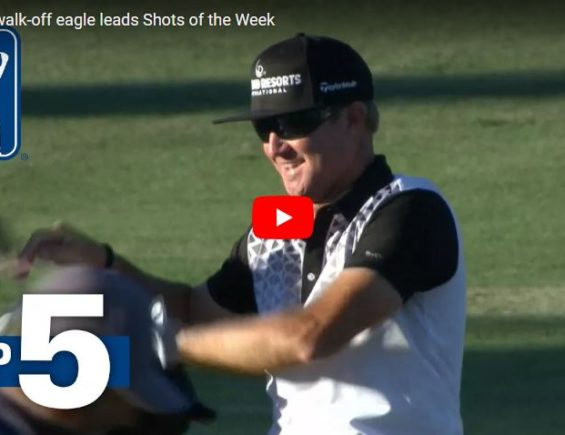 Brian Gay's walk-off eagle leads Shots of the Week
