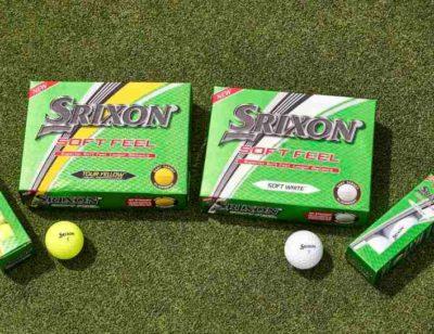 Srixon introduces the new soft feel golf ball