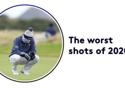 Worst Golf Shots of the Year   Best of 2020