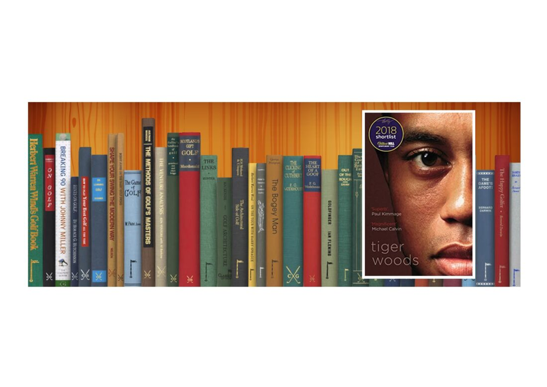 Golf Books #370 (Tiger Woods: Shortlisted for the William Hill Sports Book of the Year 2018)