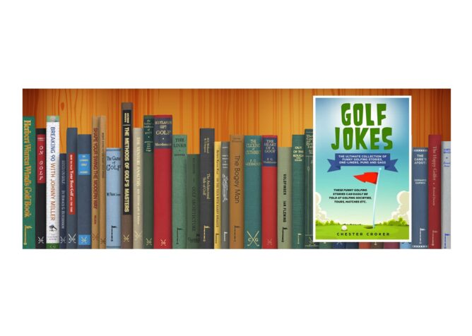 Golf Books #389 (Golf Jokes: The Ultimate Collection Of Funny Golfing Jokes)