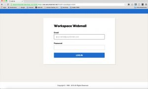 GoDaddy Workspace Email login screen - how to set up GoDaddy Workspace Email on different mobile devices and platforms.