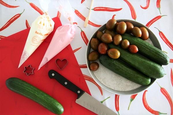 ירקות בצורות לילדים אשת סטייל