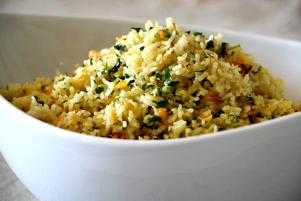 אורז עם ירקות אחלה תוספת