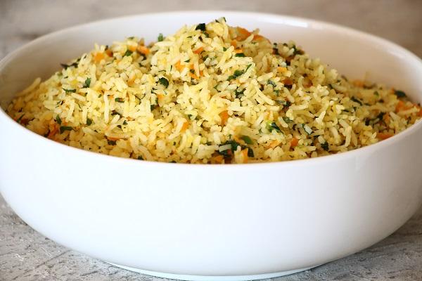 אורז וירקות מתכון קל אירוח בסטייל
