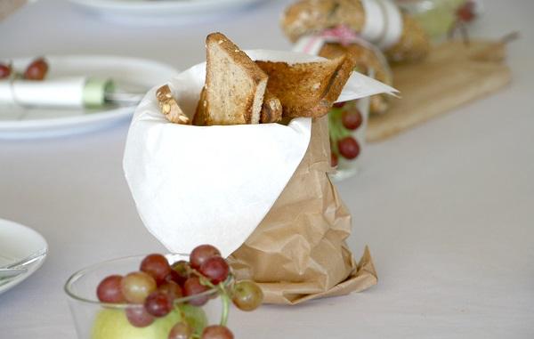 רעיון להגשת לחם בסטייל