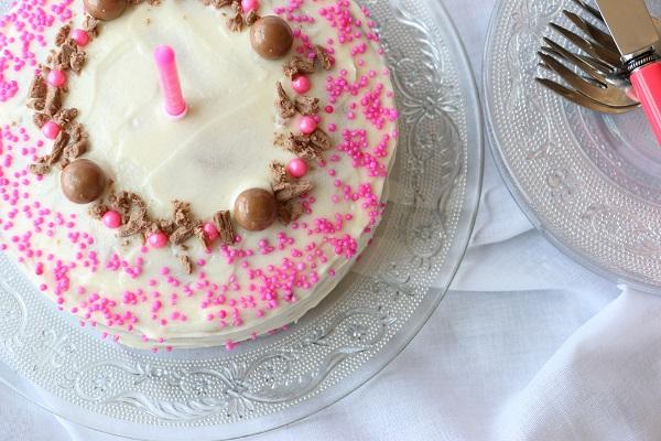 מתכון מנצח לעוגת בסיס מעולה ופשוטה שאפשר להפוך לעוגת יום הולדת חגיגית - בלוג אוכל ואירוח EshetStyle (צילום: טליה הדר)