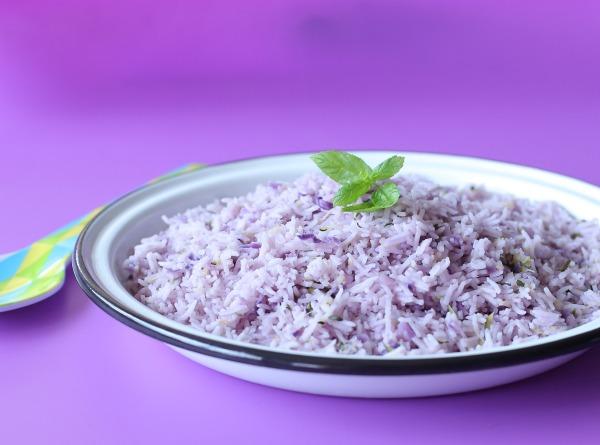 אורז סגלגל וטעים_איך להכין אורז סגול_צילום ומתכון טליה הדר מהבלוג אשת סטייל