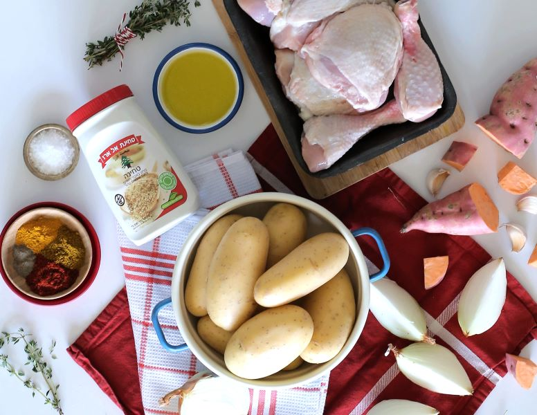 צהריים לכל המשפחה_עוף עם תפוחי אדמה שתמיד מתחסלים_ מתכון מהיר וקל_טליה הדר אשת סטייל