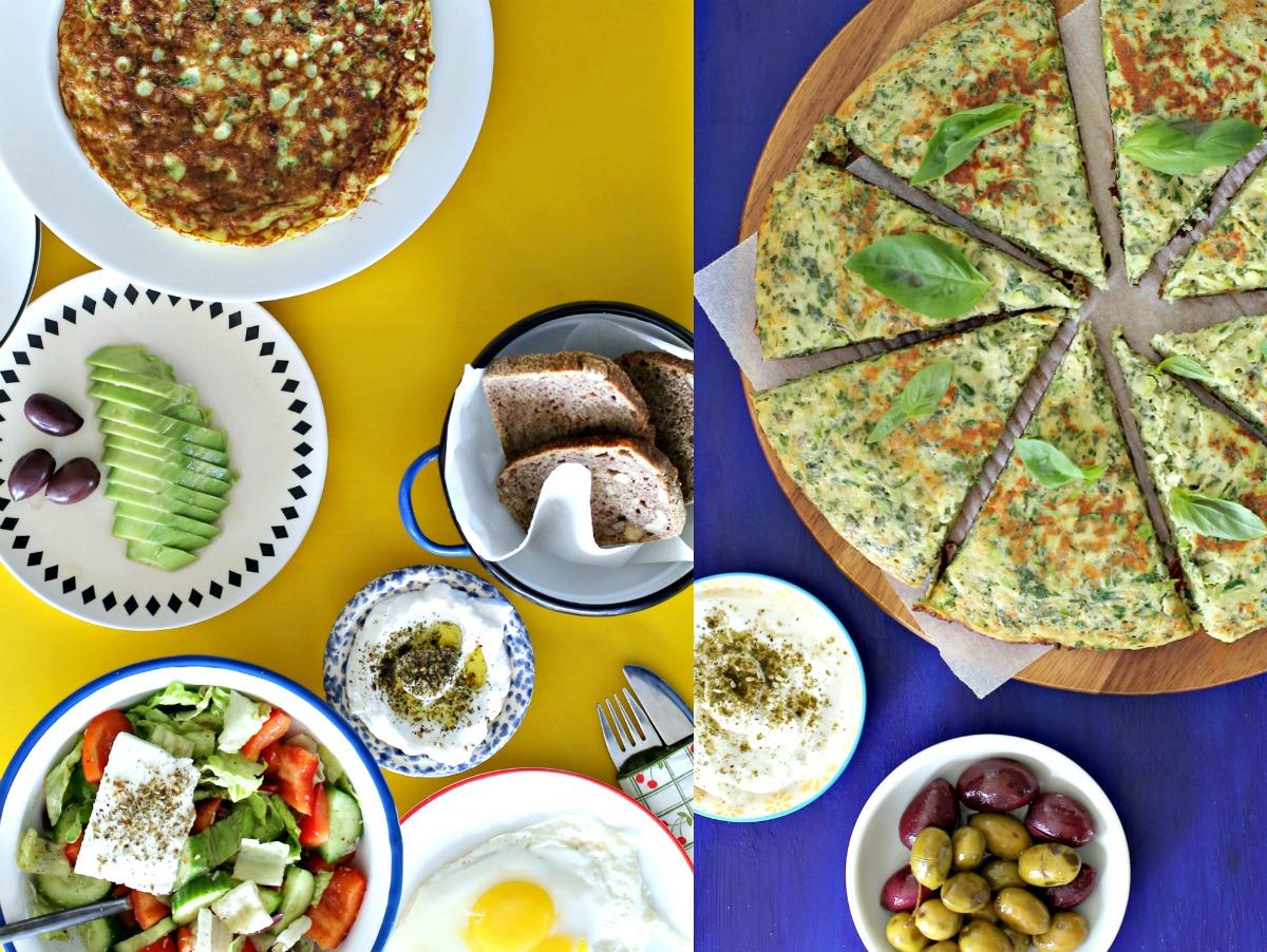 חביתת ירק_פריטטה עם זוקיני וגבינות_מה מגישים לארוחת בוקר_צילום ומתכון: טליה הדר אשת סטייל