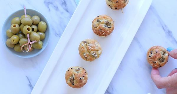 מיני מאפינס גבינות וזיתים_צילום ומתכון: טליה הדר אשת סטייל