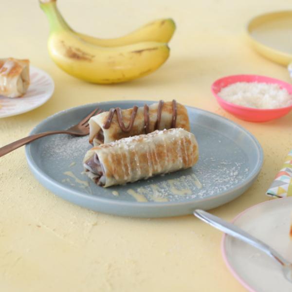 בננה עטופה במחבת_בננה לוטי מתכון מהיר_צילום ומתכון: טליה הדר_אשת סטייל
