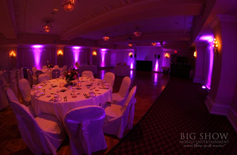 Earlybird Davenport Hotel Wedding Lighting