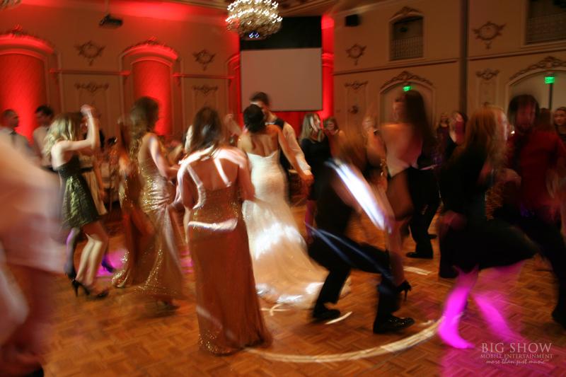 Davenport Hotel Wedding Lighting