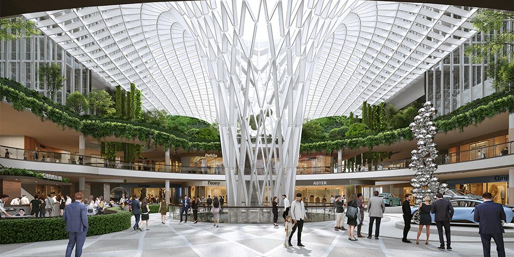 The Bellevue - Bellevue Square Expansion Interior ground floor