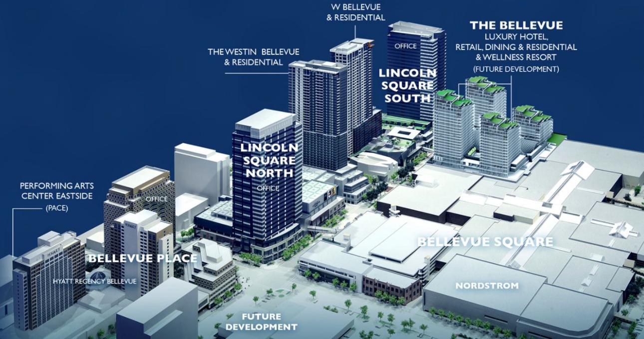 The Bellevue - Bellevue Square Expansion Map