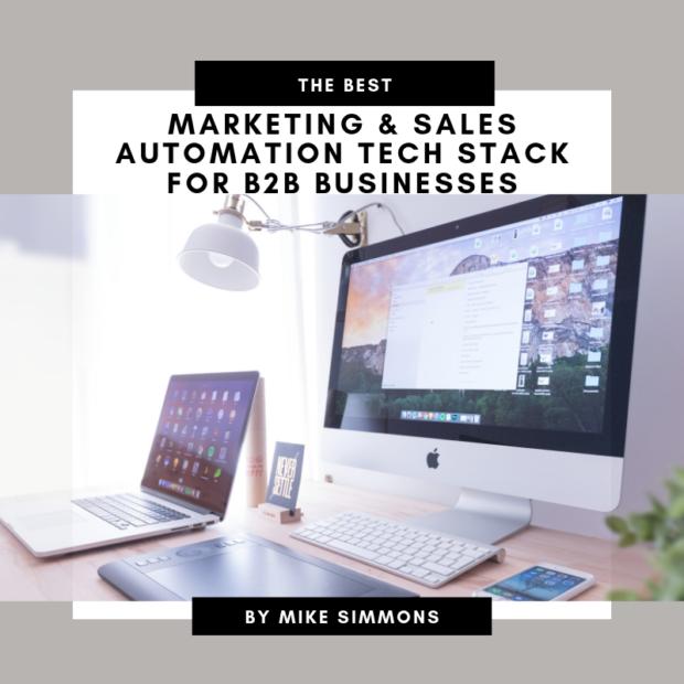 Marketing Sales Automation Tech Stack