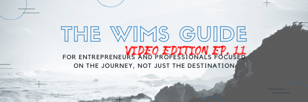 The WIMS Guide Video Ep.11 Cali Trip and More