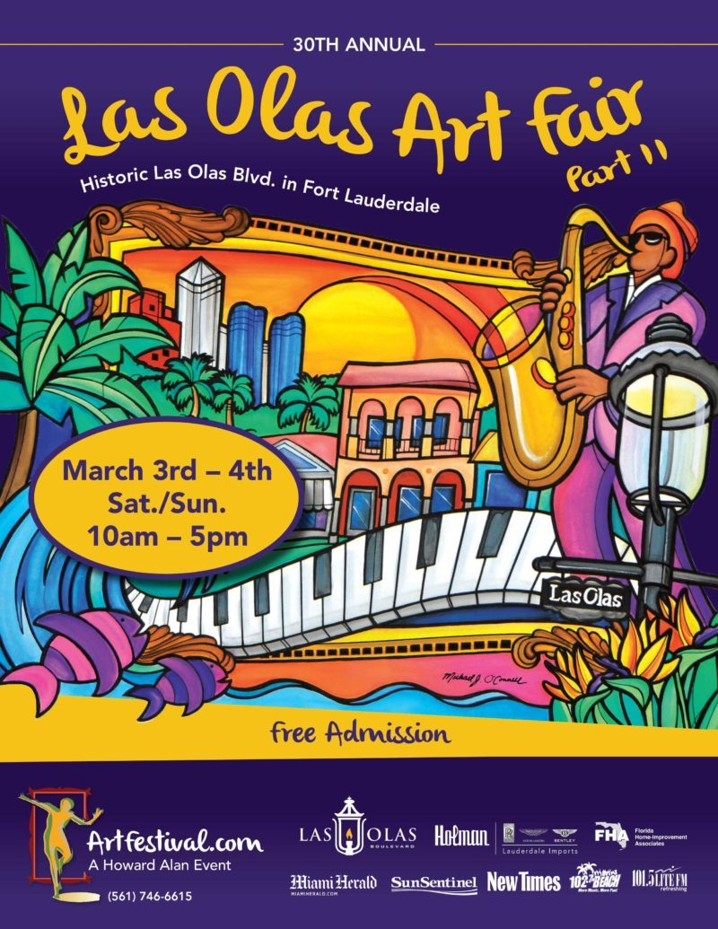 30th Annual Las Olas Art Fair Part II