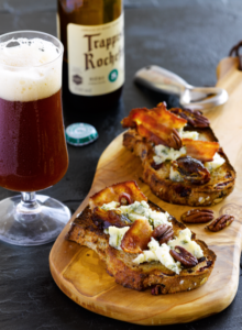 Tartine of St. Agur and Bacon with Rochefort 8
