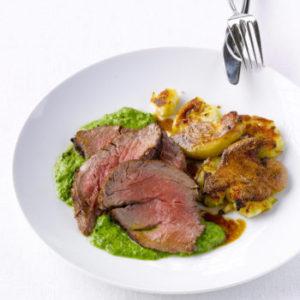 Beef Tenderloin with Salsa Verde