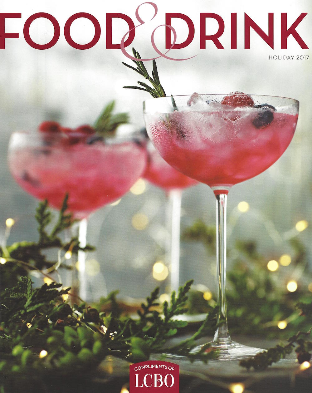 Product launch of brü mustard in Food + Drink Magazine