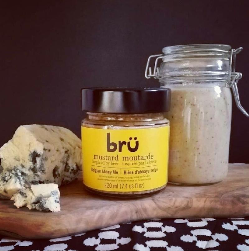 BRÜ and Blue Cheese Vinaigrette