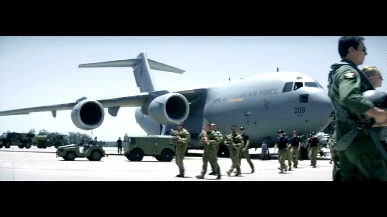 Air Force – Runway ' Anytime. Anywhere.'