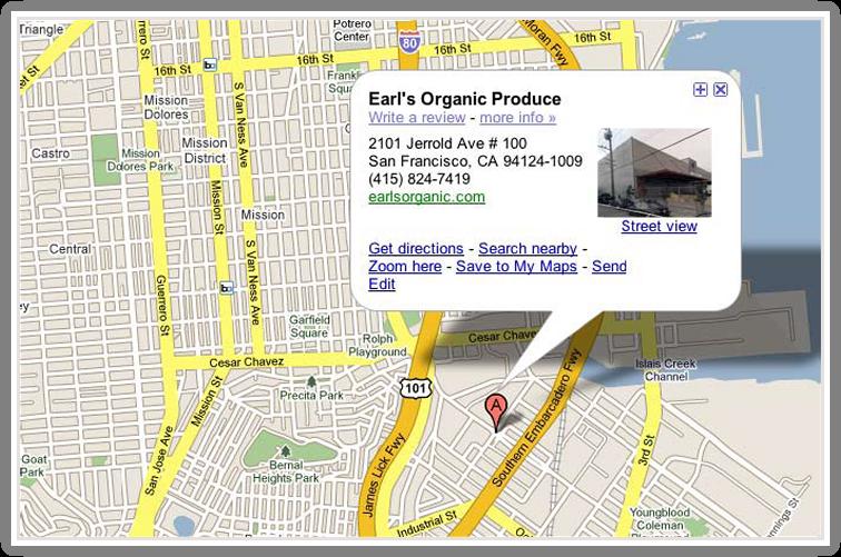 earls-googlemap
