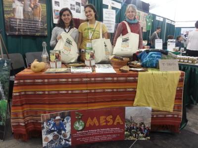 MESA Booth EcoFarm 2014