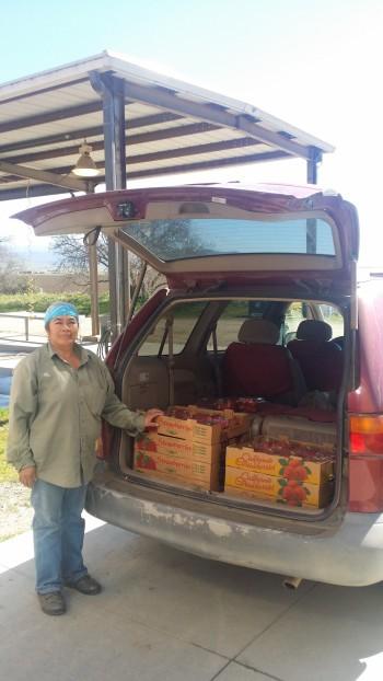 Anaselma 5th year ALBA farmer