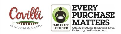Covilli Fair Trade Banner with only logos