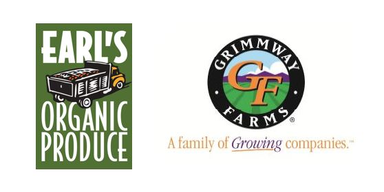 Earls and Grimmway logos